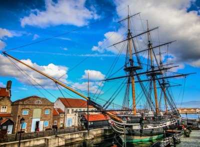Hartlepool: HMS Trincomalee and Guided Tour