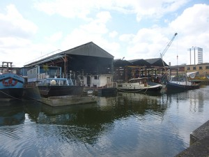 Cradle of Thames Boatbuilding: Guided tour of maritime Brentford