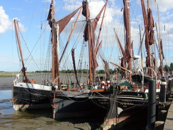 Thames Barges at risk